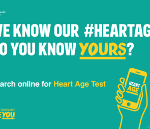 Yorkshire Smokefree Are Proud To Support PHE's Heart Age Campaign